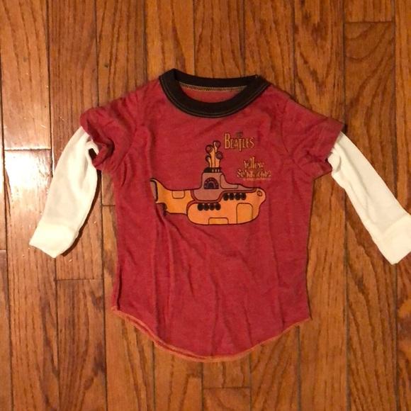 d710957d Rowdy Sprout Shirts & Tops | Infanttoddler Beatles Long Sleeve Shirt ...